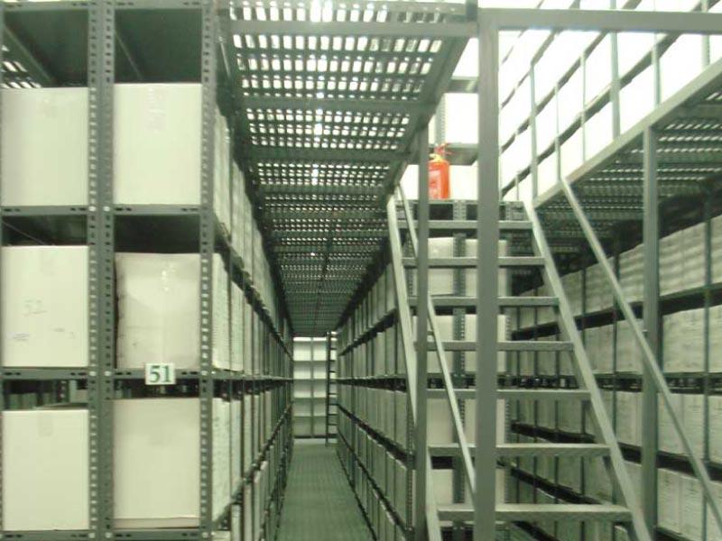 Rack katlı raf sistemi